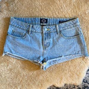 RVCA Hello Mellow Jean Shorts 29 M1